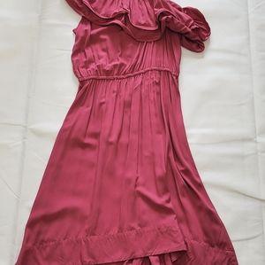 H&M Pink High Low Dress Size 12